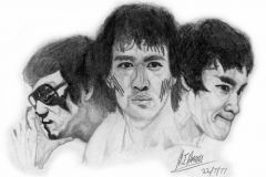 'Faces of Bruce Lee'