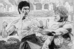 Lee vs Norris in Way of the Dragon